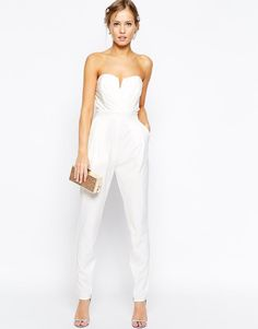 TFNC | TFNC Tailored Jumpsuit With Tie Waistband at ASOS