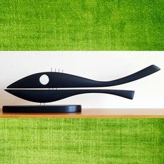 Whale statuemade with beech wood by GalleriaCentral on Etsy, $75.00