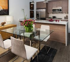 Here are 20 Stunning Condo Dining Areas to Inspire You