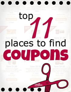 How to Get More Coupons and where to find them!