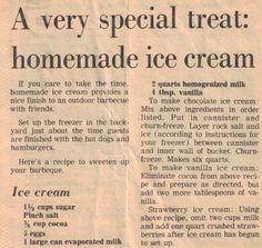 Easy Ice Cream Recipe, Making Homemade Ice Cream, Make Ice Cream, Ice Cream Maker, Ice Cream Recipes, Homemade Ice Cream Machine, Homemade Strawberry Ice Cream, Cream Cream, Cold Desserts
