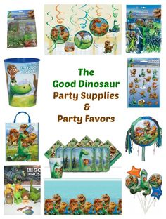 Looking The Good Dinosaur Party Supplies, Party Favors and more? Our list includes The Good Dinosaur Complete Party Supplies Kit  The Good Dinosaur Party Favor Ideas The Good Dinosaur Reusable Goodie Bags, Balloons, Party Banners and Plus
