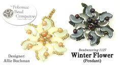 Winter Flower Pendant (Tutorial) Mehr