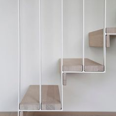 The details are not the details. They make the design. - Charles Eames. Staircase Detail by @nyfeltogstrand #p_roduct