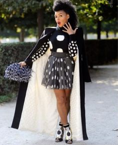 """monaedroid: """" Janelle Monáe Paris Fashion Week Photo by Wayne Tippetts """" her knee are even sexy. Look Fashion, High Fashion, Womens Fashion, Paris Fashion, Queen Fashion, Red Fashion, Fashion 2018, Fall Fashion, Fashion Beauty"""