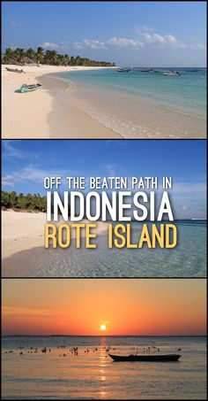 Off the beaten path in Indonesia-- a trip to Rote Island, a small island off West Timor that is known for its great beaches and famous surf breaks.