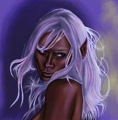 Elf,Drow by wraith2099 on DeviantArt