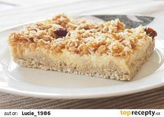 Vločkový koláč s jablky recept - TopRecepty.cz Healthy Cake, Healthy Sweets, Low Carb Recipes, Cooking Recipes, Valspar, Sweet Recipes, Banana Bread, Macaroni And Cheese, Clean Eating