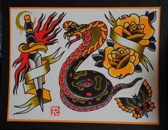 cobra traditional tattoo - Cerca con Google