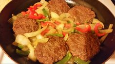 Hamburger with vegetables