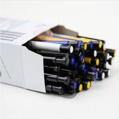 Free shipping 0.7mm ballpoint pen mark office school pens pencils writing supplies teach students use 36 pcs boligrafos caneta