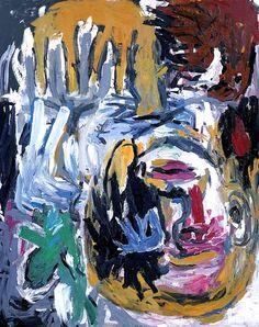 Baselitz, Georg (1938- ) - 1986 Shepherd Head / Christie's New York, 2003) | Flickr - Photo Sharing!