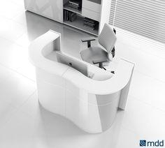 #Banques #d'accueil - wave | #MDD | #mobilier de bureau | meubles de bureau | meubles de bureau