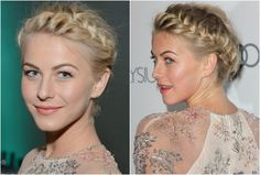 Fashion Fade Magazine : 10 Ways To Style Short Hair: Crown Braid