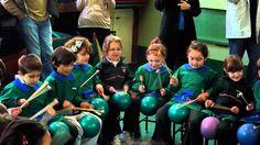 Edad: 5 años Clase de música para mejorar el ritmo