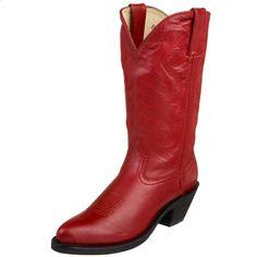 "Durango Women's RD4105 Classic 11"" Western Boot,Wild Red,8.5 M US"