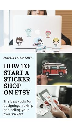 How to sell stickers on Etsy, even if you don't want to print them yourself.