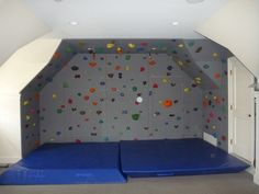 Indoor Rock Climbing! [Mandy would have loved this!]