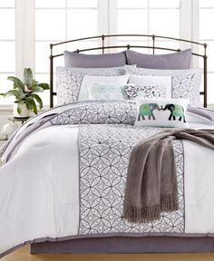 Quintin Cotton 14-Pc. Queen Comforter Set