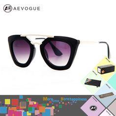 Barato Aevogue com caixa Original marca borboleta do Vintage óculos óculos  de sol das mulheres mais 3baa0b5ecc
