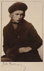 "Margarethe Koeppke as Hedwig in Hendrik Ibsen's Play ""The Wild Duck,"" Trude Fleischmann, about 1930"