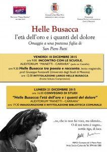 S. Piero Patti ricorda la poetessa e scrittrice Helle Busacca - http://www.canalesicilia.it/s-piero-patti-ricorda-la-poetessa-scrittrice-helle-busacca/ Helle Busacca, poetessa e scrittrice, San Piero Patti