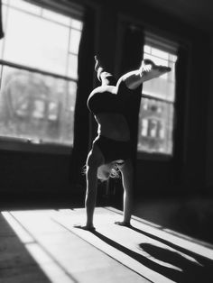 yoga    black & white