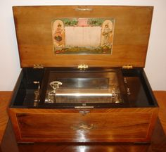 Rare and Retired Items, Rare Music Boxes, Antique Music Boxes