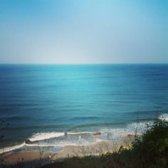 Deep blue sea.