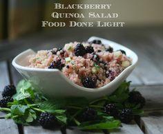 Blackberry Quinoa Salad