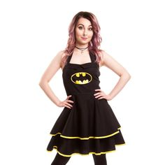 Hey, I found this really awesome Etsy listing at https://www.etsy.com/listing/507431423/batman-classic-logo-cape-dress-size