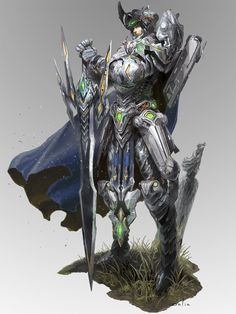 mechanic knight, ChangSung Bae on ArtStation at https://www.artstation.com/artwork/mechanic-knight
