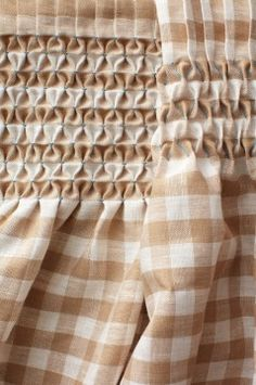 smocking tutorial  start with gingham