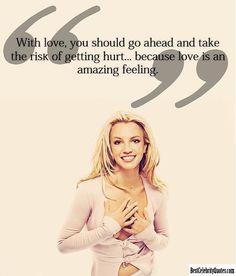 Love Is An Amazing Feeling - Britney Spears