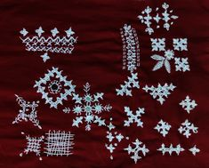Kutch Work, Indian Embroidery, Linen Bedding, Embroidery Stitches, Needlework, Stitching, Quilts, Projects, Crafts