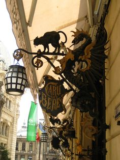 Caru' cu Bere, famous historic restaurant in Bucharest. Definitely worth the experience!