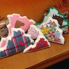 VA pillows from Dreamfly available at Kitsch Norfolk Va.   www.kitschva.com