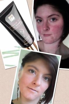 Checkout how well the #CC #Corrective 'wise #green' #primer tones down and neutralizes redness beneath foundation.