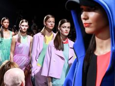 DKNY line up of pastels