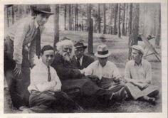 Baruch Ber Leibowitz with talmidim