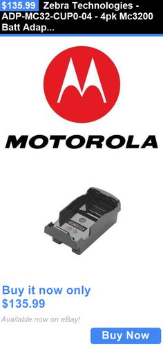 PDAs and Pocket PCs: Zebra Technologies - Adp-Mc32-Cup0-04 - 4Pk Mc3200 Batt Adap W/ Mc3000 /Mc3100 4 BUY IT NOW ONLY: $135.99