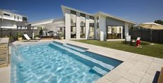 Narellan Pools Symphony Pool, Swimming Pools, Fibreglass Pools, Inground Pools