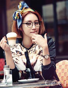 Go Joon Hee CéCi Korea Magazine December 2013