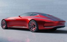The Vision Mercedes - Maybach 6