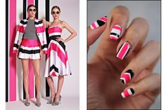 Fashion Friday - Inspiration Christian Siriano ~ Didoline's Nails