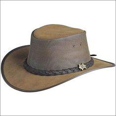 1c42c21af18d8c eBay #Sponsored LARGE CONNER HANDMADE BC HATS COOL AS A BREEZE AUSTRALIAN  LEATHER BARK MESH