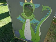 party dragon photo booth - Google Search