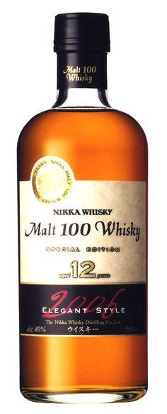 Nikka Malt 100 Whisky Special Edition 12YO 2006