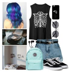 Hair Style by aure-white on Polyvore featuring polyvore moda style Retrò Topshop Witchery Skullcandy fashion clothing