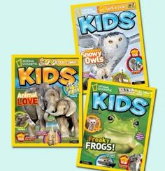 1 Year Subscription to National Geographic Kids for $10 (Save 76%)